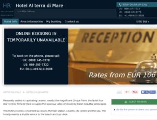hotel-al-terra-di-mare.h-rez.com screenshot
