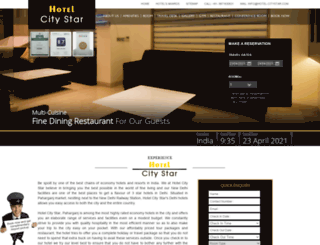 hotel-citystar.com screenshot