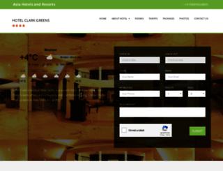 hotel-clark-greens-delhi.hotelsgds.com screenshot