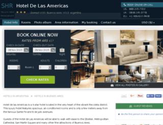 hotel-de-las-americas.h-rez.com screenshot