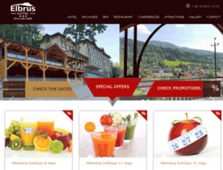 hotel-elbrus.com screenshot