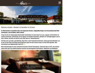 hotel-heinz.de screenshot