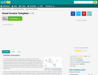 hotel-invoice-template.soft112.com screenshot