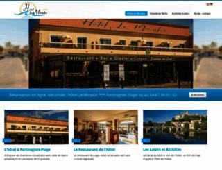 hotel-le-mirador.com screenshot