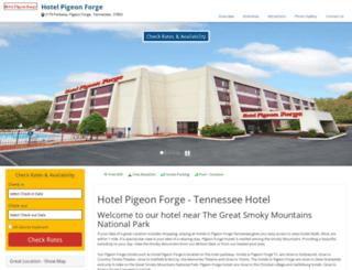 hotel-pigeonforge.com screenshot