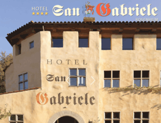 hotel-sangabriele.de screenshot