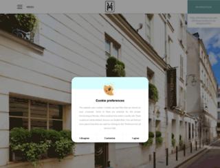 hotel-verneuil-saint-germain.com screenshot