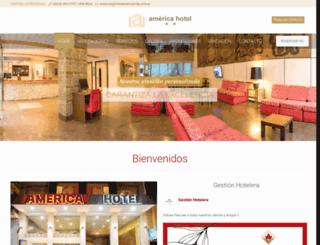 hotelamericamdp.com.ar screenshot