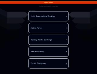 hotelarvoredo.com.br screenshot