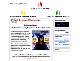 hotelbewertungen.cph-hotels.com screenshot