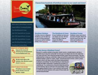 hotelboating.co.uk screenshot