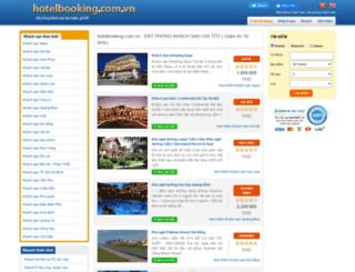 hotelbooking.com.vn screenshot