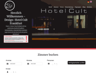 hotelcult.de screenshot
