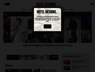 hoteldesigns.net screenshot