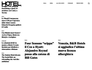 hoteldomani.it screenshot