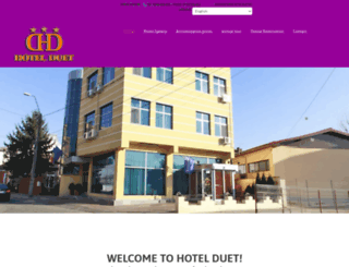 hotelduet.ro screenshot