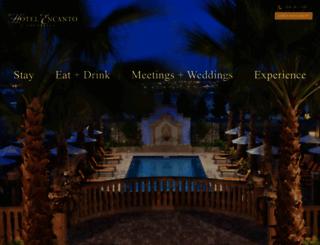 hotelencanto.com screenshot