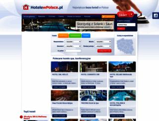 hotelewpolsce.pl screenshot