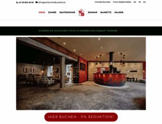 hotelinterlaken.ch screenshot