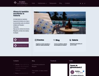hotelisabellacatolica.com screenshot