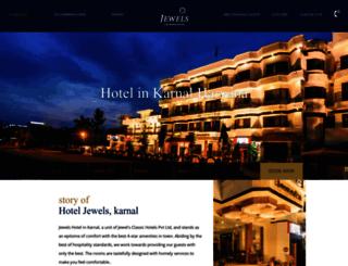 hoteljewels.in screenshot