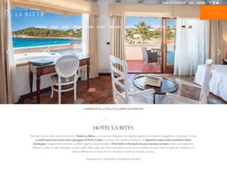 hotellabitta.it screenshot