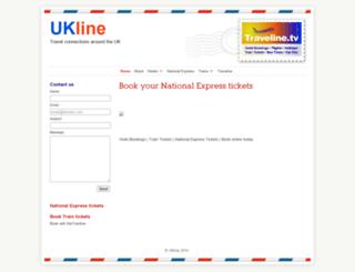 hotelline.co.uk screenshot