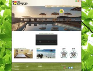 hotelmaranduba.com.br screenshot