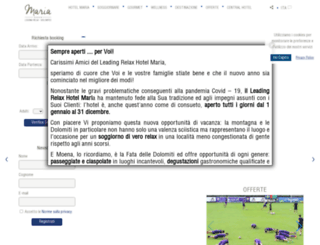 hotelmaria.com screenshot