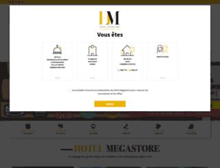 hotelmegastore.com screenshot