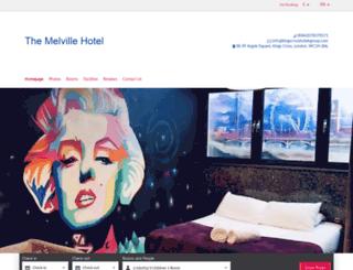 hotelmelvillelondon.com screenshot