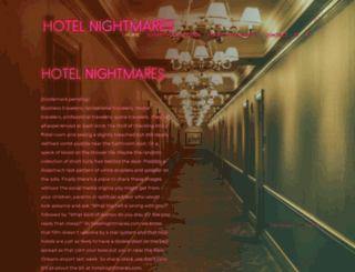 hotelnightmares.com screenshot