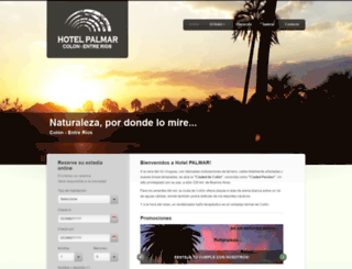 hotelpalmar.com.ar screenshot