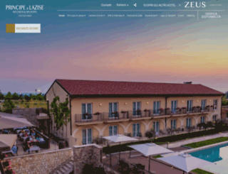 hotelprincipedilazise.com screenshot