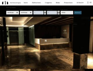 hotelpuertadesegovia.com screenshot