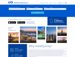 hotelquickly.com screenshot