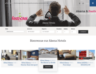 hotels-akena.com screenshot