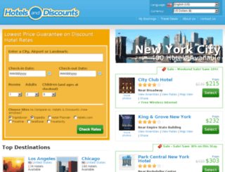 hotels-and-discounts.com screenshot
