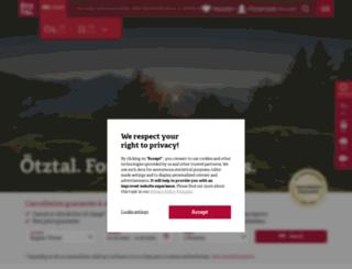 hotels-oetztal.com screenshot