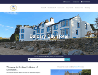 hotels-of-distinction.com screenshot