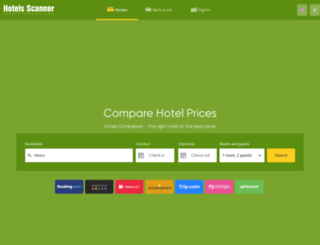 hotels-scanner.com screenshot
