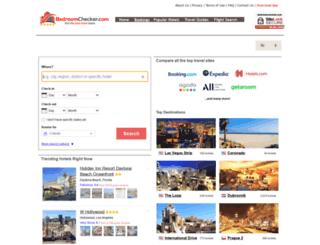 hotels.bedroomchecker.com screenshot