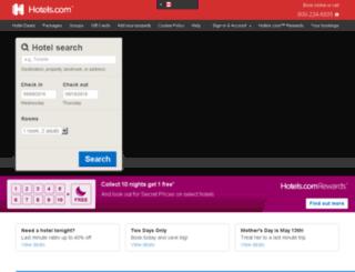 hotels.ca screenshot