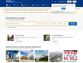 hotels.cheaptickets.ch screenshot