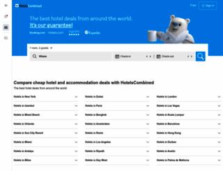 hotels.momondo.co.uk screenshot