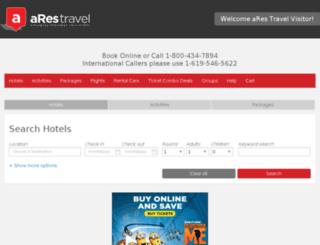 hotels.visitanaheim.org screenshot