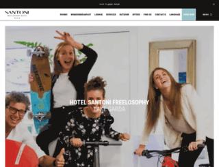 hotelsantoni.com screenshot