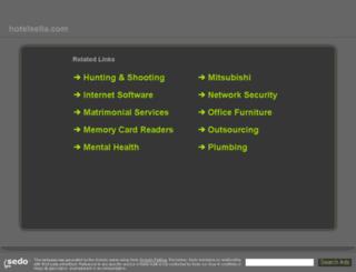 hotelsella.com screenshot