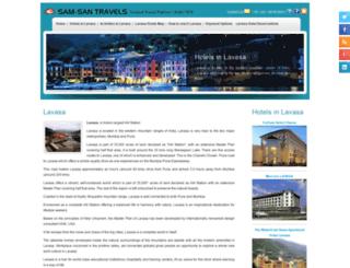 hotelsinlavasa.com screenshot