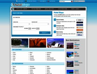 hotelstays.com screenshot